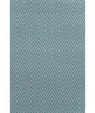 RugStudio presents Dash and Albert Diamond Slate/Light Blue Woven Area Rug